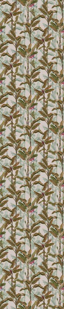 palm argile mur v g tal feuilles de bananiers papier peint le presse papier. Black Bedroom Furniture Sets. Home Design Ideas