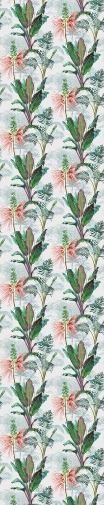 cara bes gouache florale et tropicale papier peint le presse papier. Black Bedroom Furniture Sets. Home Design Ideas