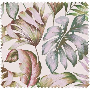 textile d'ameublement motifs floraux