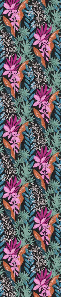 water plant 1957 jungle marine inspiration ann es 1950 papier peint le presse papier. Black Bedroom Furniture Sets. Home Design Ideas
