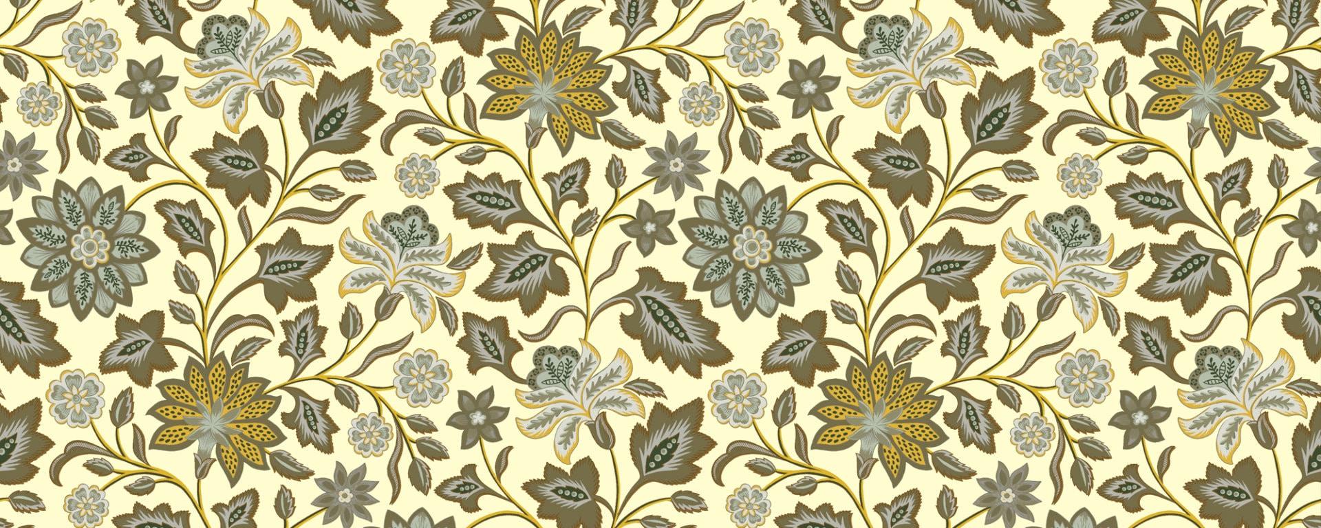 royal india hotel jaune indienne r alis e la gouache papier peint le presse papier. Black Bedroom Furniture Sets. Home Design Ideas