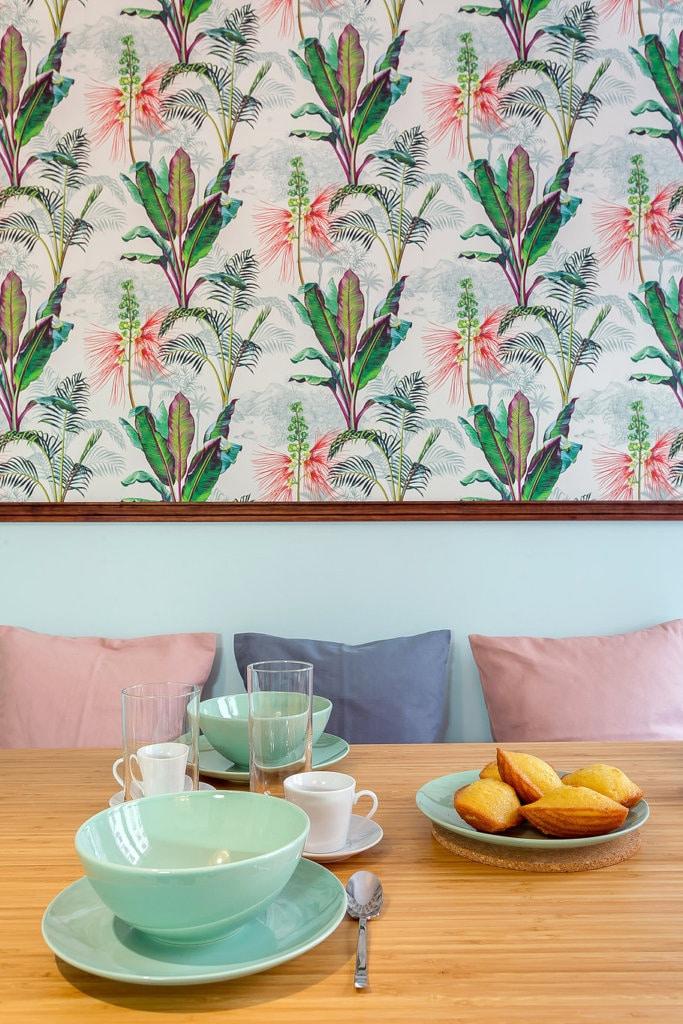 Papier peint tropical Cuisine - Lalaklak / Le Presse Papier