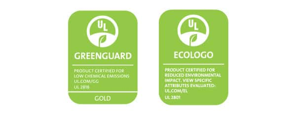 Logo Greenguard & Ecologo