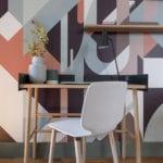 Hôtellerie: Le papier peint Nelio dans une suite urbaine et design de MiHotel