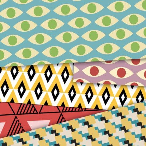 mojazz collection de papier peint design et g om trique made in france le presse papier. Black Bedroom Furniture Sets. Home Design Ideas