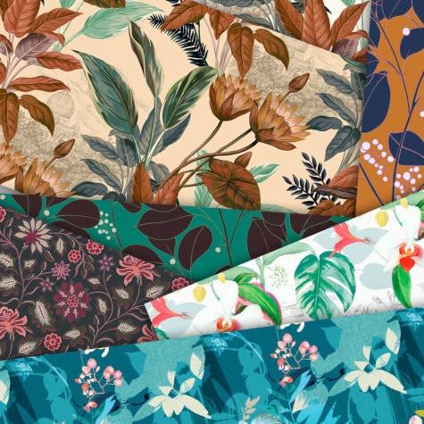 collection tradition papiers peints motifs floraux traditionnels le presse papier. Black Bedroom Furniture Sets. Home Design Ideas