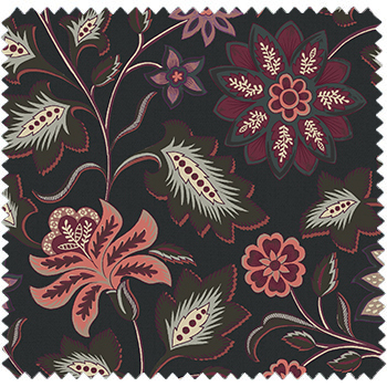 textile d'ameublement haut de gamme inspiration Inde