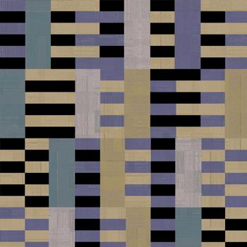 papier peint de salon aux motifs géométriques
