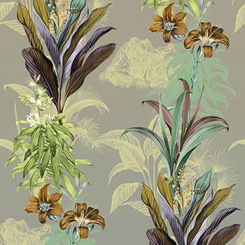papier peint francais inspiration florale