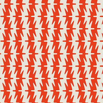 papier peint graphique original rouge et blanc