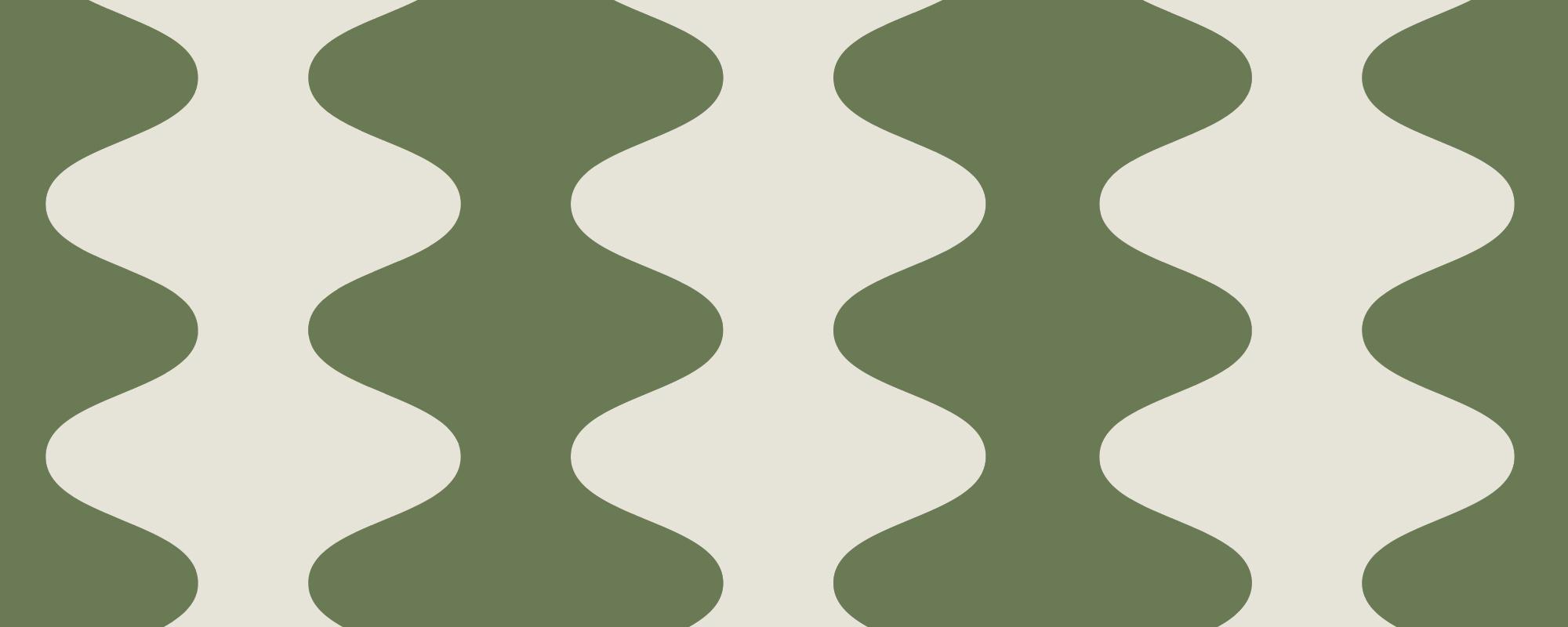 papier peint tendance vert et blanc